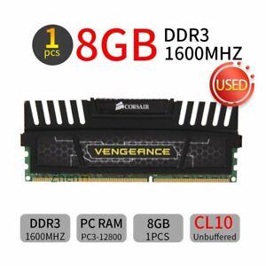 Corsair Vengeance 8GB DDR3 1600MHz PC3-12800 CL10 240Pin DIMM Desktop Memory BT