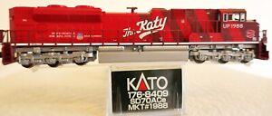 Kato N 176-8409 Union Pacific Heritage MKT SD70ACe Diesel Loco MKT 1988