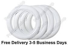 "15X3"" Wide Whitewall Portawall Tyre Trim insert Set OF4 FORD CHEVY VW BEETLE PRE"