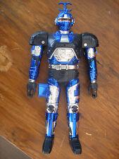 bandai sentai Saban's Deluxe BEETLE BORG DX BeetleBorg Metalix 30 cm bleu blue