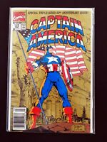 CAPTAIN AMERICA #383 MARVEL COMICS 1991 VF+ NEWSSTAND EDITION