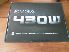 EVGA 430W 80 Plus Certified Power Supply (100-W1-0430-KR) NEW* Open Box