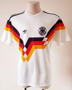Germany 1988 - 1990 Home football Adidas vintage shirt size M