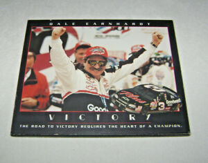 Nascar 1998 Dale Earnhardt Daytona Victory Wall Plaque Heart of a Champion