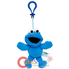 Sesame Street Cookie Monster Key chain Hanging Plush Doll Backpack Clip
