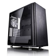 Fractal Design Define Mini C TG Mid Tower Gaming Case - Black USB 3.0