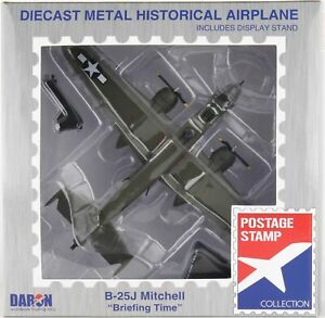 """Postage Stamp - 1/100 Scale B-25J Mitchell """"Briefing Time"""" (BBPS5403-5)"""