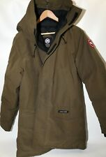 #329 Canada Goose Langford  Down Parka Size L  RETAIL $995 Military Green