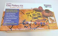 Discovery Channel Pueblo Clay Pottery Kit & Pottery Wheel Refill Air Dry