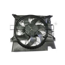 TYC 623120 Radiator and Condenser Cooling Fan Assembly New w/ Lifetime Warranty