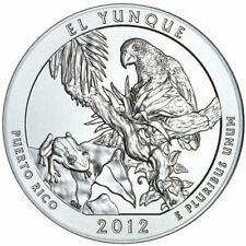 2012 El Yunque 5 OUNCE .9999 SILVER,  KEY COIN, VERY LOW MINTAGE, free shipping