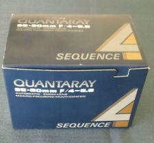Quantaray 35-80 mm F/4-5.6 Automatic Zoom Lens Macro Focusing Multi-Coated