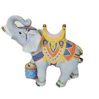 "Vintage LENOX Porcelain 1989 CAROUSEL ANIMALS CIRCUS ELEPHANT 8 1/4"" Figurine"