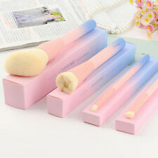 Gradient Color Pink Powder Makeup Brushes VDL pantone 4pcs Set Make up Brush