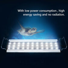 8W Aquarium LED Light Lighting Lamp Fish Tank Accessory White US Plug
