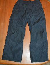 Slalom Insulated Snowboarding Ski Pants Boys Girls Youth Large 10-12 Black