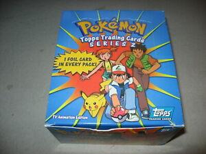 Original Factory Box Pokemon Series 2 Trading Cards 36 Packs