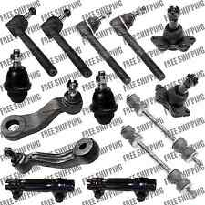 Suspension Ball Joint Lower,Upper,Pitman,Idler Arm,Tie Rods For Chevy K3500 4WD