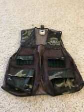*NORTHWEST TERRITORY* Camouflage Hunting VEST With USMC Patch Men's M