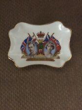 Vintage 1937 coronation HM KingGeorge VI & HM Queen Elizabethdish
