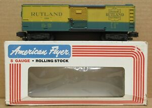 American Flyer Rutland Boxcar Custom Painted S-Gauge LNIB