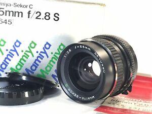 [Mint Almost Unused] Mamiya Sekor C 55mm f/2.8 S M645 1000S Super Pro TL JAPAN