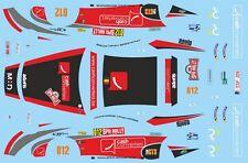 DECALS 1/43 PORSCHE 911 - #012 - LEJEUNE - RALLYE DE SPA 2015 - D43414