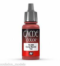 Vallejo Game Color 72.066 Tan, 17ml Acrylic Fantasy / Wargaming Paint