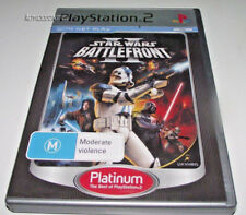 Star Wars Battlefront II PS2 (Platinum) PAL *No Manual*