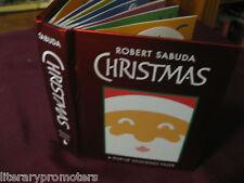 CHRISTMAS: A POP-UP STOCKING FILLER By ROBERT SABUDA Scarce