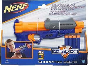 Hasbro Nerf N-Strike Sharpfire Delta Blaster B5816 Toy