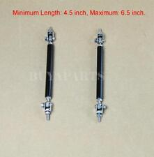 "4.5-6.5"" Black Splitter Rod Strut Tie Bar Support Rods for Lip Diffuser Air Dam"