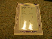 Microscale decals N 60-720 Canadian National Autoracks   H93