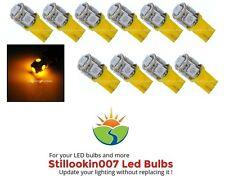 10 - Landscape LED bulbs, AMBER YELLOW 5LED T5 Path, Garden & Landscape Lighting