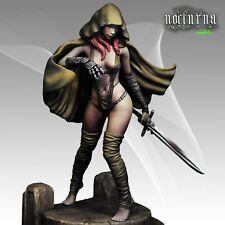 Nocturna Models Shiro Negro espada Royo obras de arte serie 70mm Kit Sin Pintar Resina