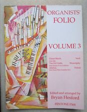 Organists' Folio Volume 3  *NEW*