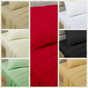 Bedding Heaven® 4' Percale Fitted Sheet - Small Double - Three Quarter Size