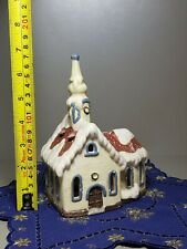 Vintage Porcelain Christmas Christian Nativity Church Figurine Germany