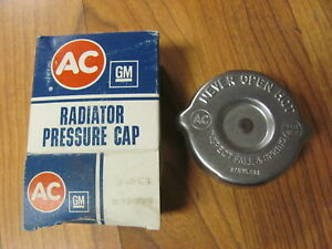 NOS AC RC2 Radiator Cap 48-56 Oldsmobile 48-53 Chevy 850798 49 50 51 52 53 54 55