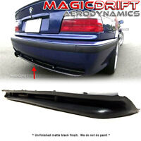 For 92-98 BMW E36 3-Series M-Tech M Style Rear Bumper Diffuser Lip Urethane