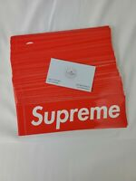 Supreme Box Sticker 100% Authentic