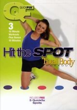 QUICKFIX QUICK FIX HIT THE SPOT TOTAL BODY WORKOUT DVD NEW SEALED EXERCISE