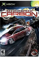 Need for Speed: Carbon Xbox game disc only 37y