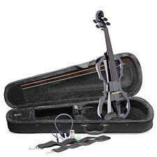 Stagg EVN X-4/4BK, violino elettrico dimensione normale, nero (B9o)