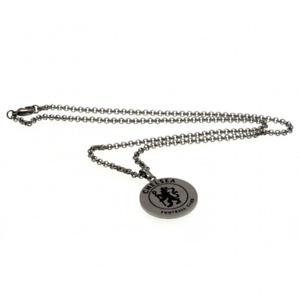 Chelsea FC Round Pendant & Chain