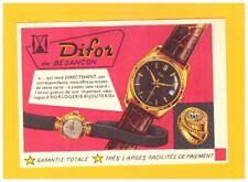 """BESANCON (25) USINE de MONTRES """"DIFOR"""" vers 1950"""