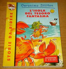 GERONIMO STILTON L'isola del tesoro fantasma 3°ediz. PIEMME Junior