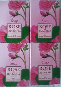 •BioFresh, 4 soaps - Rose of Bulgaria, Natural soap for woman 100 g