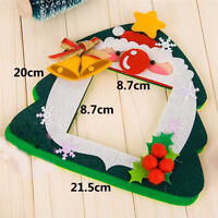 DIY Non-woven Christmas Switch Stickers Kids Educational Toy Handmade Craft S