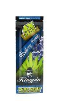 Kingpin Blueberry Bomb Hemp Wraps FRESH High Hemp Herbal Twisted Discount 1 Pack